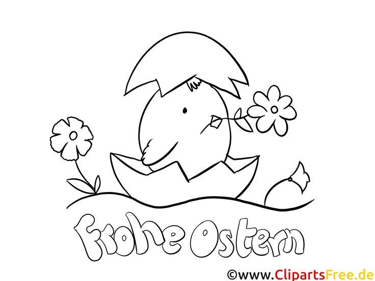 frohe ostren malvorlagen für kindergarten  ausmalbilder