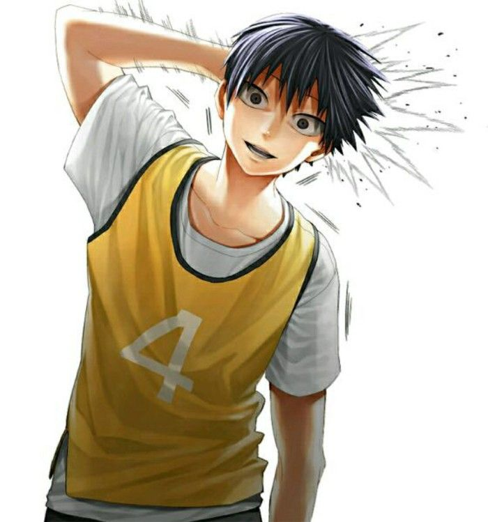 LOLOL Is there anything scarier than hitting Kageyama Tobio on the back of the head with a volleyball?