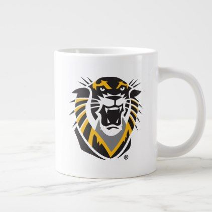 Fort Hays State Primary Mark Large Coffee Mug - college mug mugs diy cyo gift idea design present