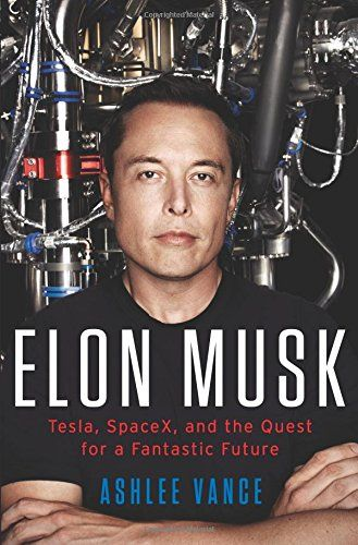 "Tomorrow a new book is available to the public = ""Elon Musk: Tesla, SpaceX, and the Quest for a Fantastic Future"" => http://amzn.to/1Fo81UW"