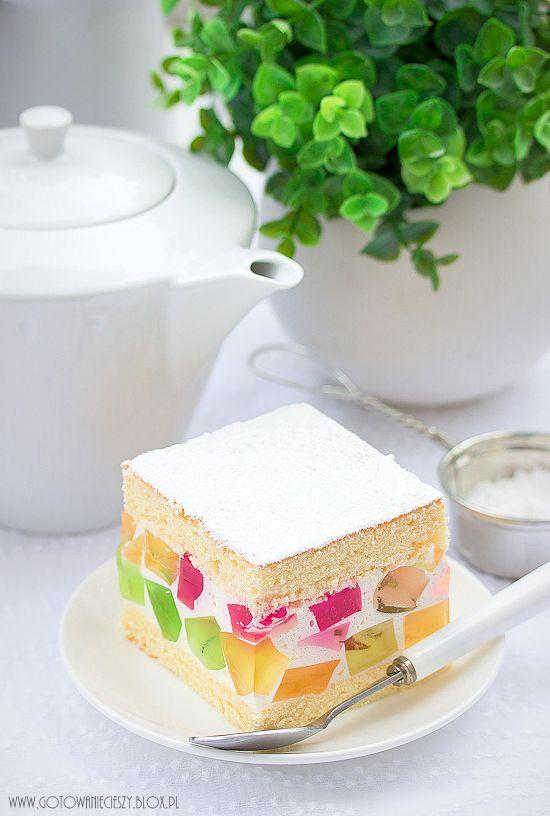 Galaretkowiec... La Gélatine Gâteau...