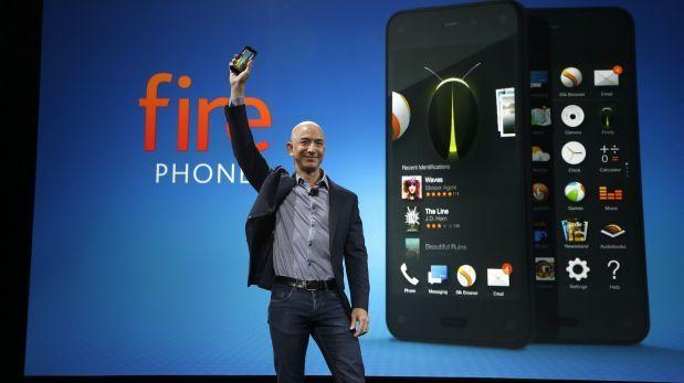 Amazon presentó el Fire Phone para competir con Samsung y Apple