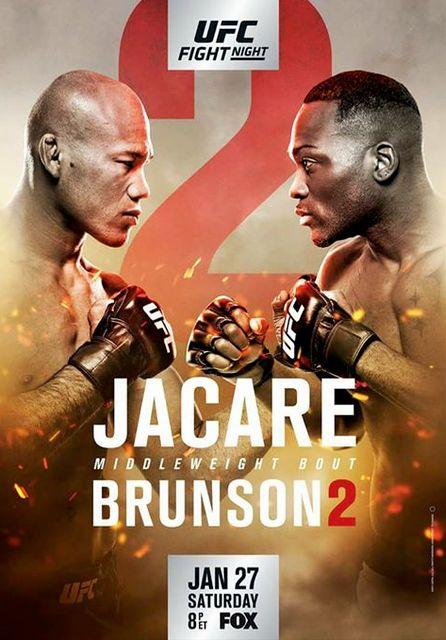 UFC FIGHT NIGHT JACARE VS BRUNSON 2