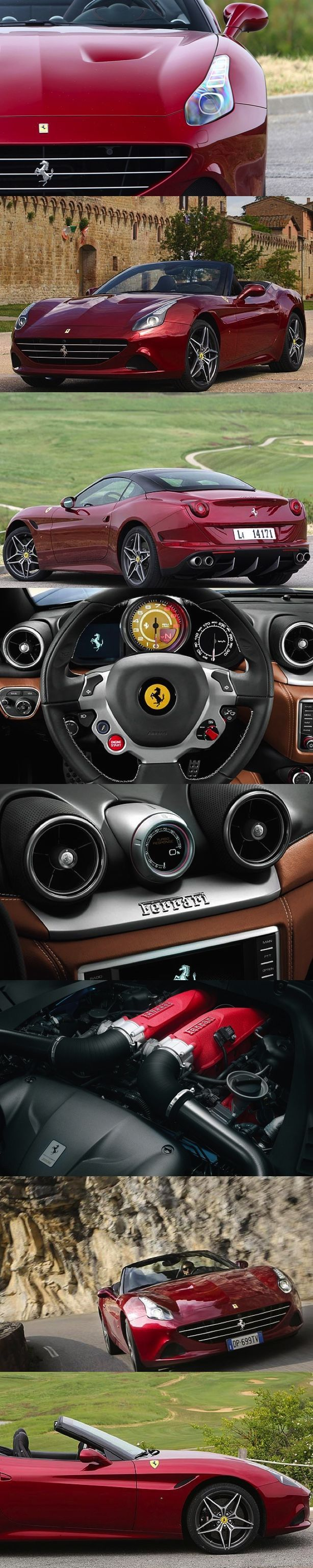 On the road in the #Ferrari California T by Tim Barnes-Clay. Sliding behind the wheel of your most prized possession never fails to take you to seventh heaven. The scent of your #Ferrari almost intoxicates you as you wrap your hands around the leather clad steering wheel. You appreciate that the marque represents the essence of exotic ultra-sportiness; but you recognise it goes deeper than that ... #Ferrari #Supercar #CarReview #Luxury #Sportscars