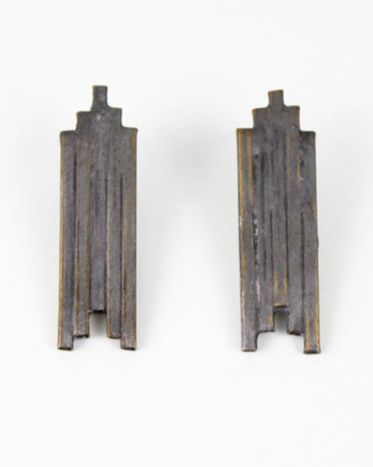 Temple Earrings by Evidence Jewelry $40