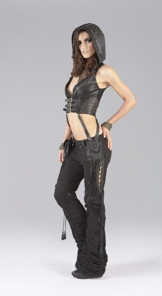 Horn Leather Vest