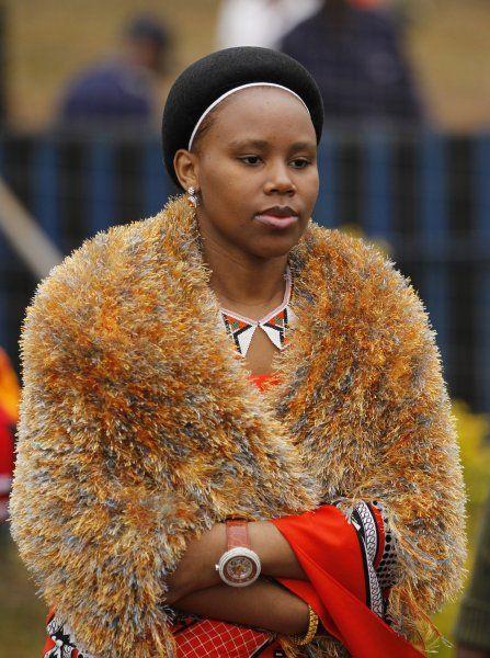 Swaziland Royal Wife #10 Inkhosikati LaMahlangu nee Zena Soraya Mahlangu (Born:1984, Married: 2002)
