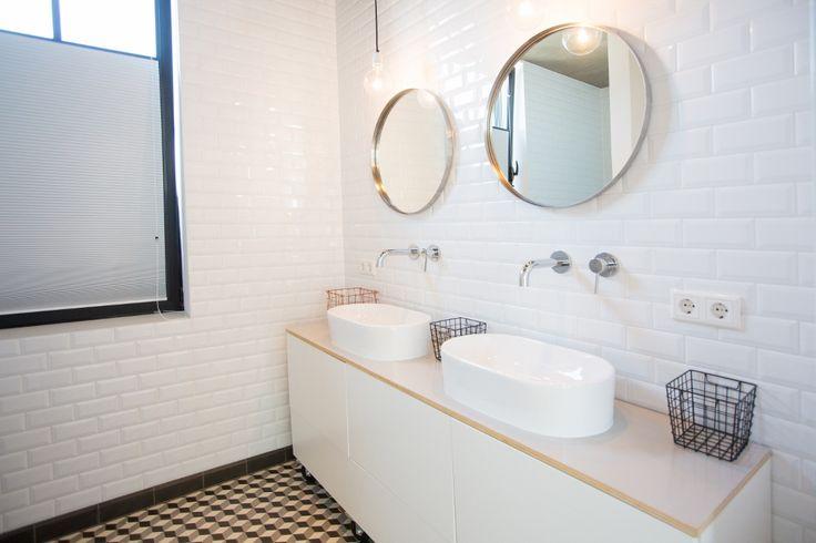 Nieuwbouw woning Strijp R door Broeren|Das bouwbedrijf. Bathroom