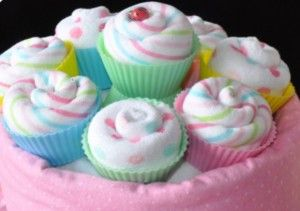 instructions to making a paper baby diaper | cupcake instructions is a fool proof way to learn how to make ...