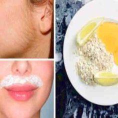 Solo 3 ingredientes y 15 minutos para esta receta y quitar tu vello facial