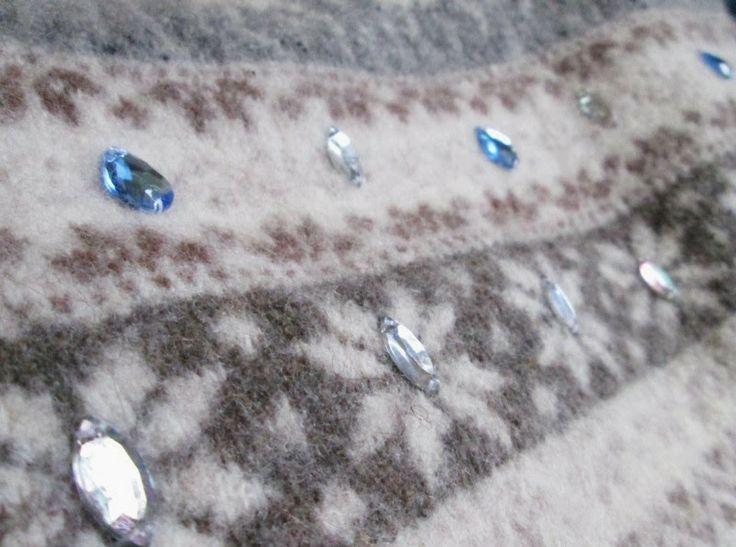 ... a little diy blog: DIY Embelished Sweater