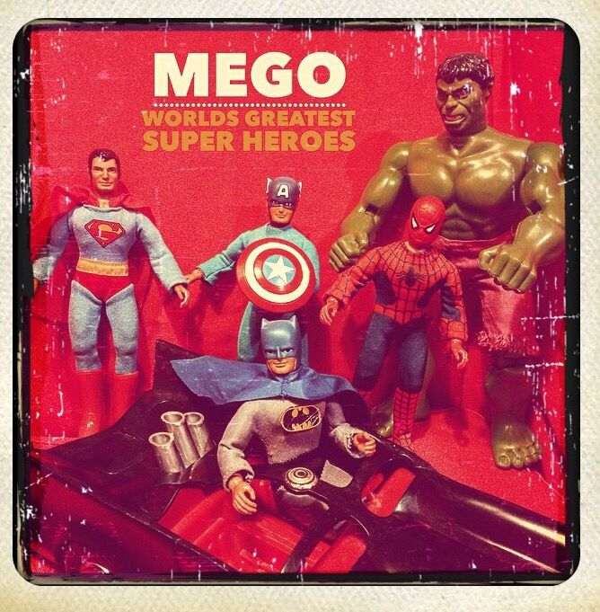 Mego world's greatest super heroes
