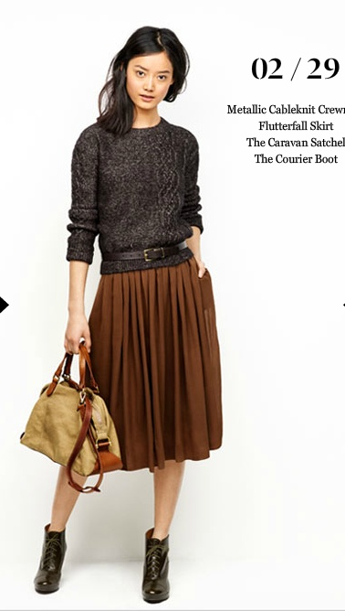 Madewell.: Midi Skirts, Outfits, Sweaters, Fashion, Style, Clothing, Fall Lookbook, Madewell Fall, Pleated Skirts