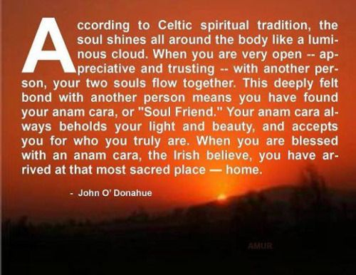 Anam Cara-- Irish soul mate
