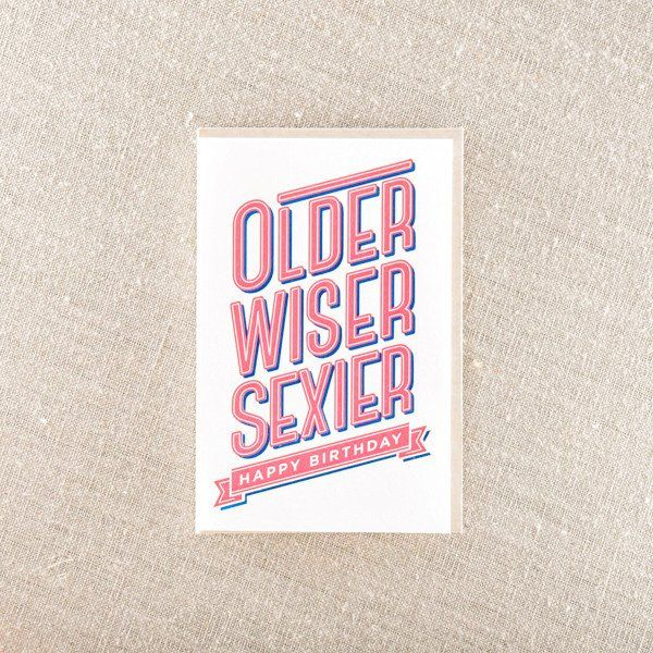 43 best Letterpress Birthday Cards images – Birthday Cards Printed