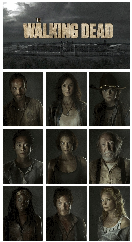 """how do the characters of """"dead Characters who've died on amc's """"the walking dead."""