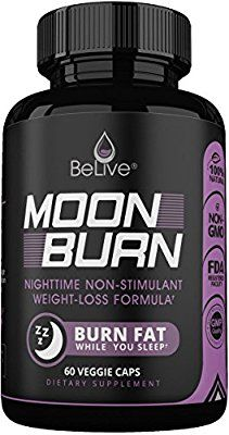 MoonBurn Fat Burner Weight Loss Pills for Women and Men. Sleep Aid Supplement, Stimulant-Free, Carb Blocker & Appetite Suppressant with Garcinia Cambogia, Green Tea & CLA – 60 Caps: Amazon.ca: Health & Personal Care #weightloss