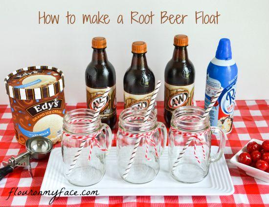 A Root Beer Float Memories #IceCreamFloat #shop #cbias