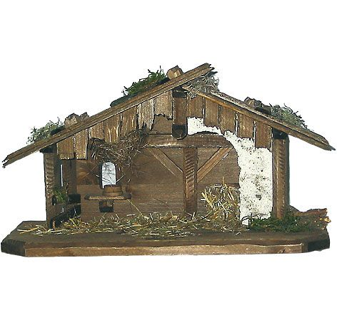 Nativity Stable by Lepi - Pure II - Manger Scenes