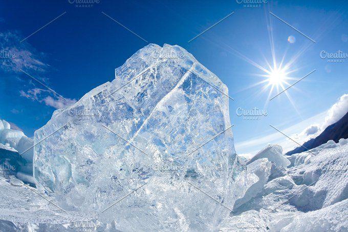 Winter Baikal by zastavkin on @creativemarket