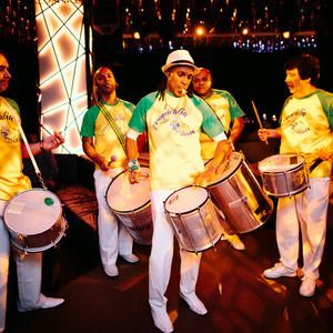 Hire our Brazilian Samba Band in London and the UK. Our Brazilian themed band is perfect for Rio and carnival events.