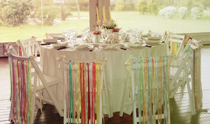 #Ambientacion de #boda · Realizada por Happy #Wedding