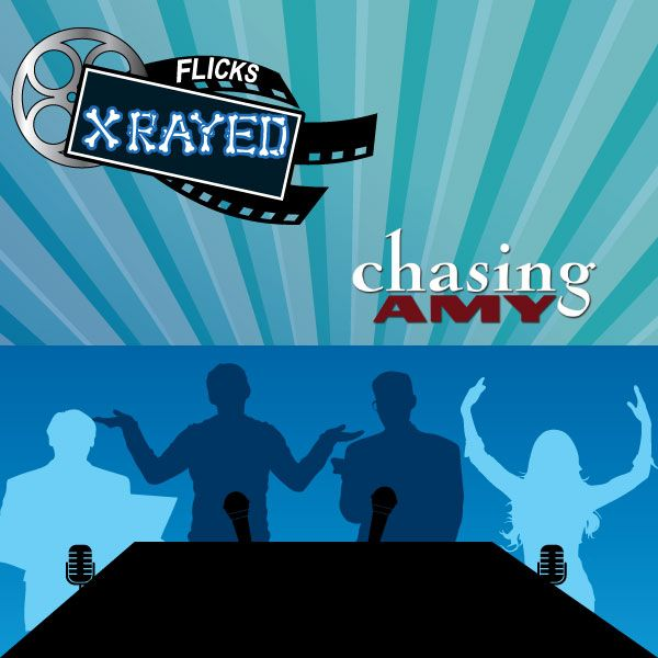 Season 1 Episode 15 of Flicks XRayed is about the film Chasing Amy, Jeff and Tony Joined by sound guy Bryan and Natasha. Where we enjoy Peter's Drive-In and discuss The Veiwaskewiverse, 90's fashion and homosexuality