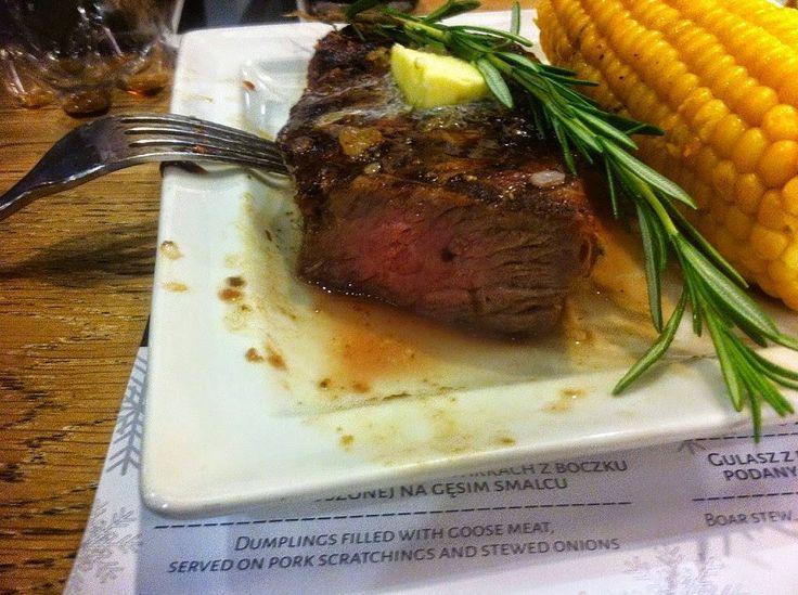 Głodni ? Dziś jemy w Road American Restaurant  Szef kuchni poleca steki!