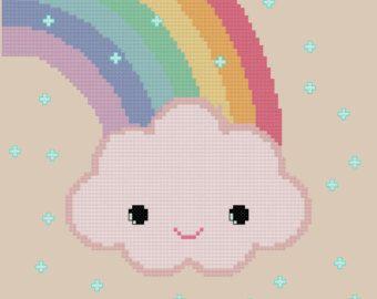vintage unicorn cross stitch - Google Search