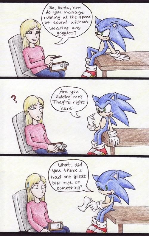 The truth about Sonic the Hedgehog.   http://ift.tt/1oxoP6C via /r/funny http://ift.tt/219nwfW  funny pictures