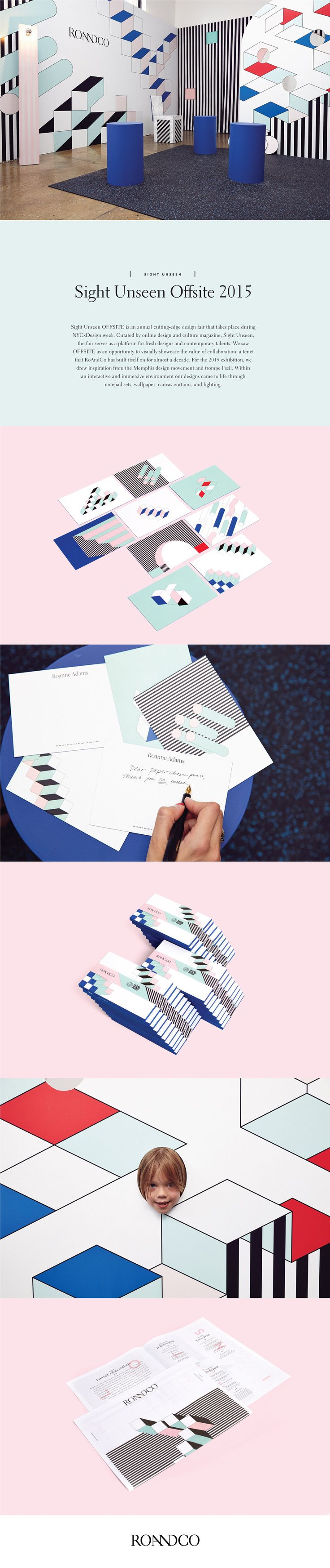 Sight Unseen Offsite 2015, by RoAndCo Studio