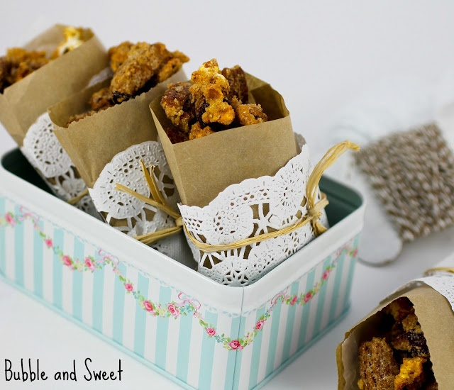 More like this: popcorn mix , popcorn and pecans .