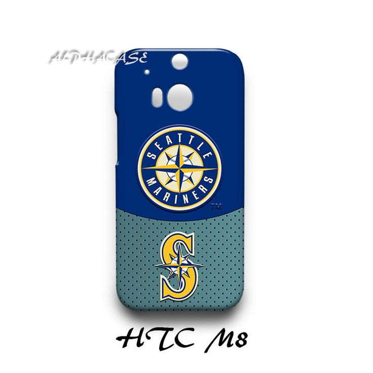Seattle Mariners HTC M8 Hardshell Case Cover