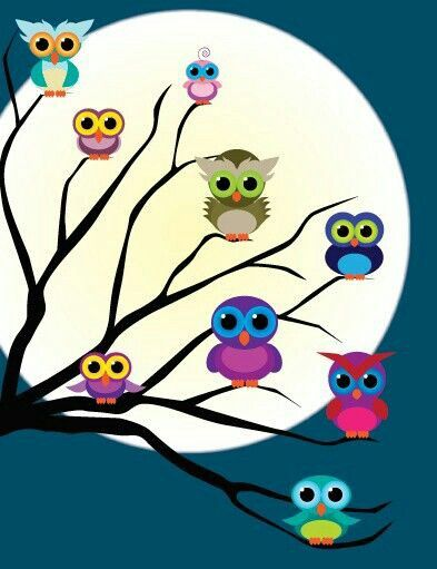 I have an owl tree in my room!(: