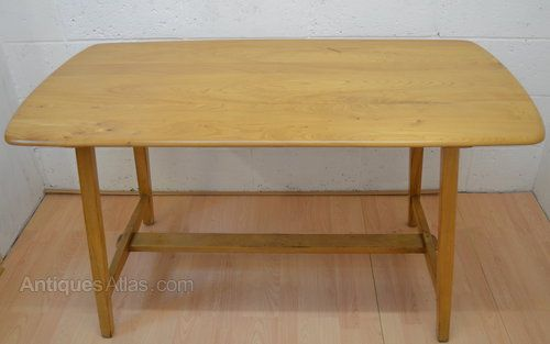 Antiques Atlas - Ercol Table Utility Dining Table- CC41