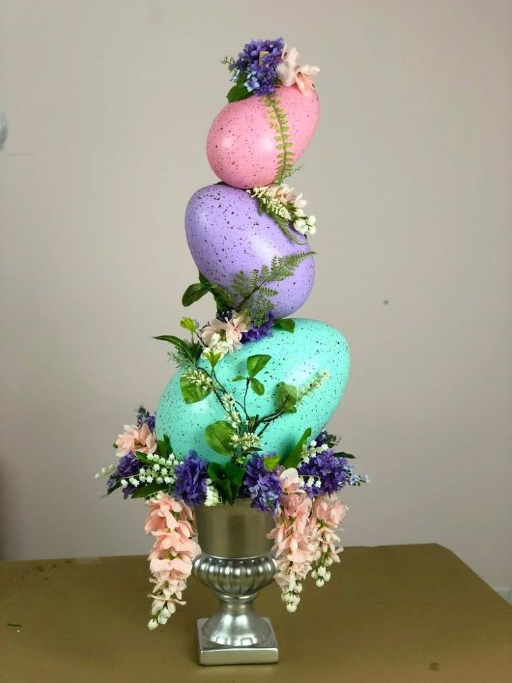 Make an Easter Egg Topiary
