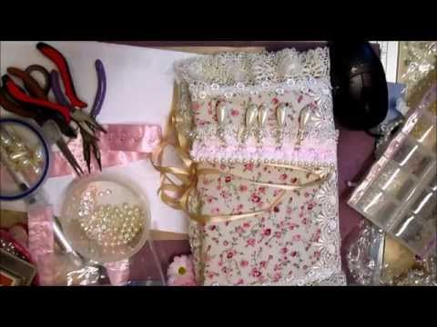 Elegant Pearl Trim Tutorial - jennings644 - YouTube