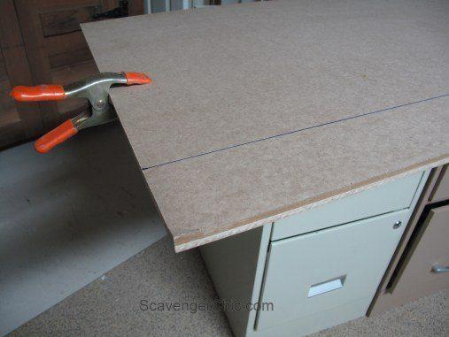 Mismatched+Metal+File+Cabinets+Get+a+Makeover