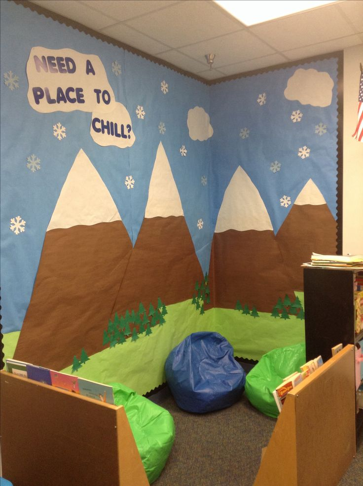 Need a place to chill? Calm down corner for elementary school counselors,