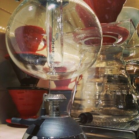 We love filter coffee and Hario Siphon + V60 coffee drippers.