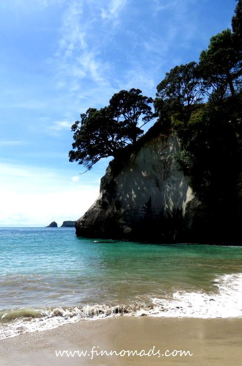Cathedral Cove in Coromandel peninsula. #newzealand #traveltips #travelinspiration