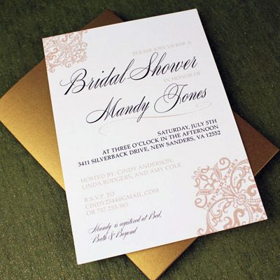 39 best Bridal Shower Planning \ Invitation Templates images on - bridal shower invitation templates