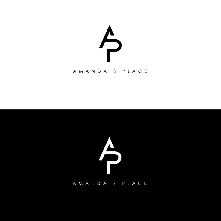 P Design: It Is Minimalist Combination Of The Letter A And P