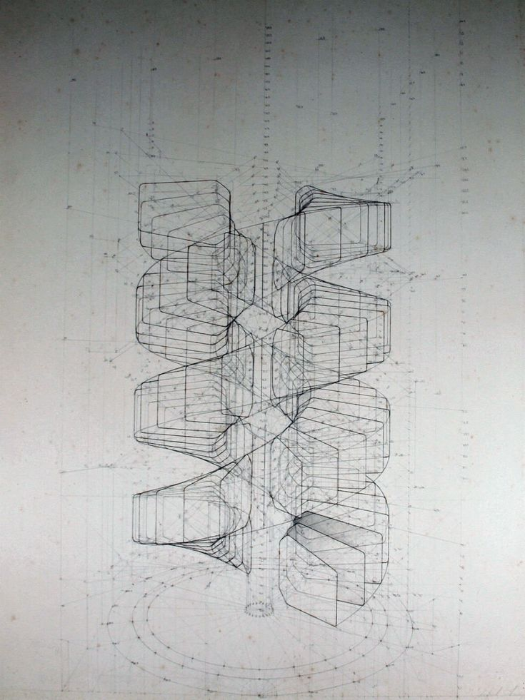 Venezuelan artist Rafael Araujo | Calculation of a Double Helix