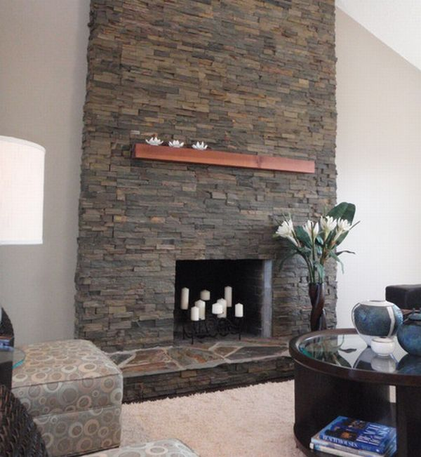 Linear Fireplace With A Flat Screen Tv On Top Fireplaces