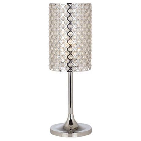 Glitz Crystal And Chrome Table Lamp 62673 Master Bedroom Ideas Pinterest