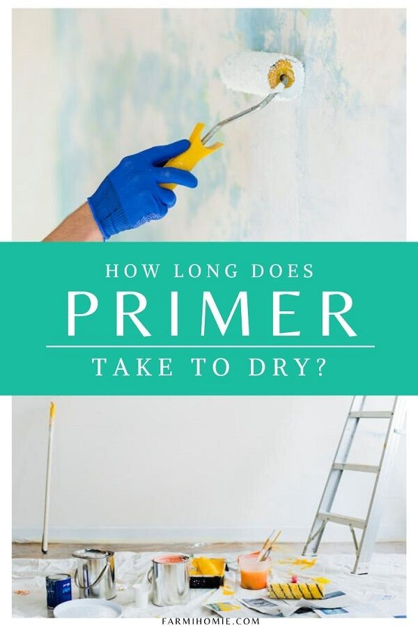 How Long Does Paint Take To Dry