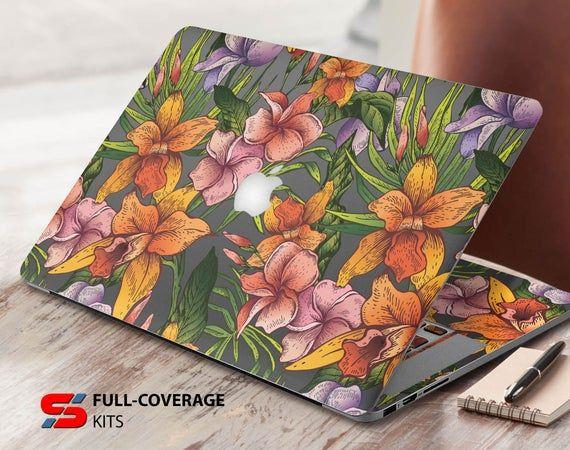 Floral Sticker MacBook Pro 13 Macbook new macbook skin keyboard stickers vinyl decal sticker Laptop