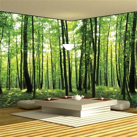 XXL Nature Non Woven Wall Decal, 624 x 219cm