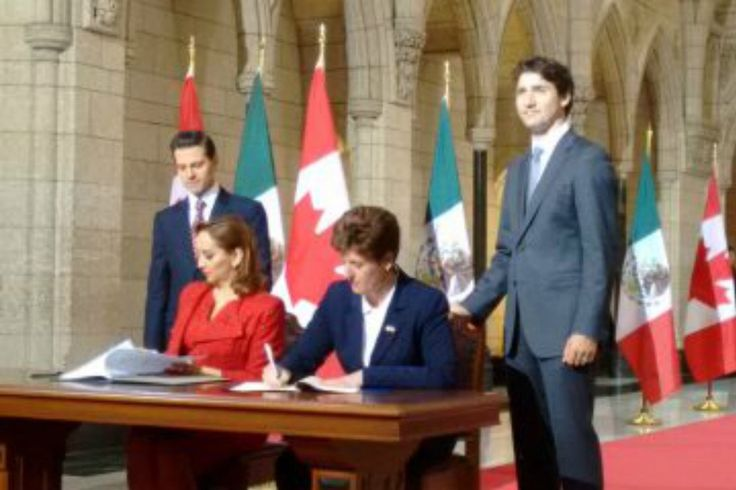 Canada And Mexico Ready To Renegotiate NAFTA Trade Deal Ahead of Trump Presidency